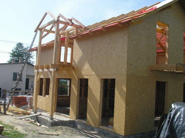 postup stavby drevodomu