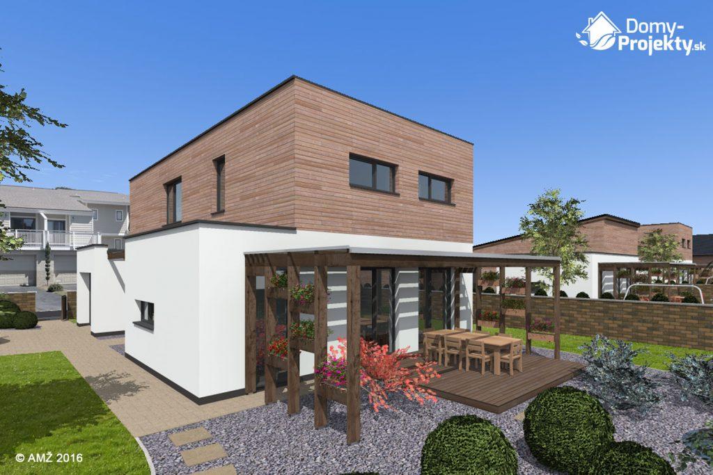 montovaný dom s terasou