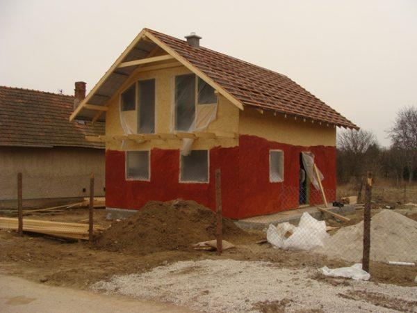 nahadzovanie fasády domu