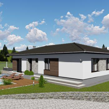 Projekt domu Zvolen
