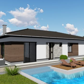 projekt domu Klokocov