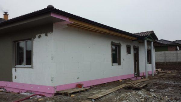 postup murovaného domu na kľuč
