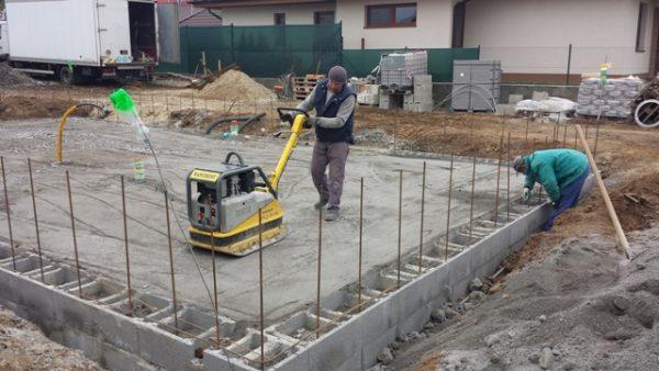 postup stavby platne