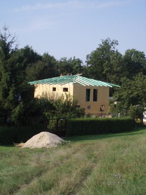 stavba drevodomu