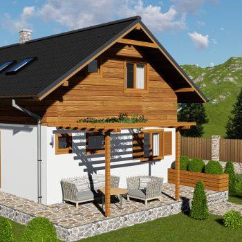 projekt domu na kľúč